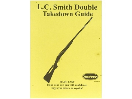 """Radocy Takedown Guide """"L.C. Smith Double"""""""