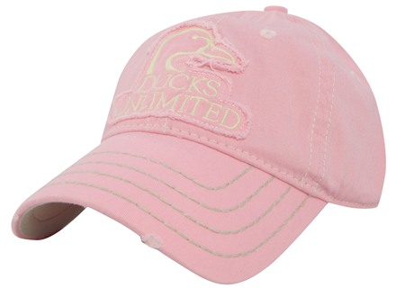 Ducks Unlimited Logo Cap Cotton Pink