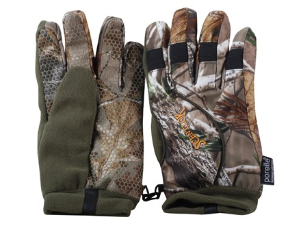 Scent-Lok Waterproof Insulated Gloves Polyester Realtree AP Camo Large