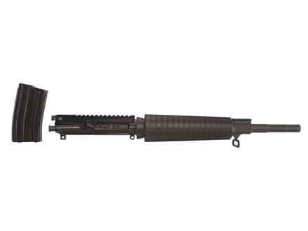 "Alexander Arms AR-15 A3 Entry Upper Assembly 50 Beowulf 1 in 20"" Twist 16.5"" Barrel Matte with Mid-Length Handguard, 7-Round Magazine"