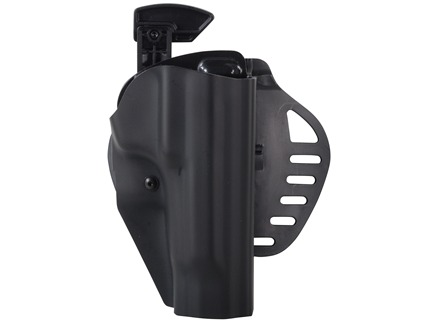 Hogue PowerSpeed Concealed Carry Holster Outside the Waistband (OWB) Right Hand Beretta 92, 96  Polymer Black