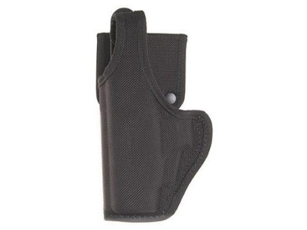 Bianchi 7120 AccuMold Defender Holster S&W 411, 909, 1076, 3904, 4006, 5904 Nylon Black