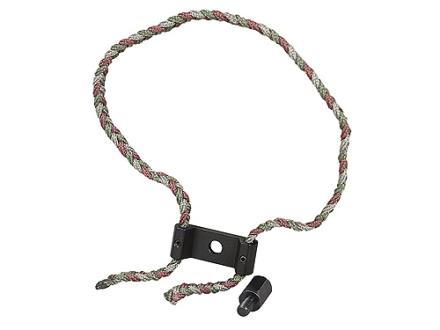 Allen Braided Bow Sling with Aluminum Yoke & Stabilizer Adapter Nylon Camo