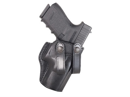 Galco Summer Comfort Inside the Waistband Holster Right Hand Smith & Wesson M&P Compact 9, 40 Leather Black