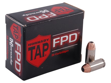 Hornady TAP Personal Defense Ammunition 40 S&W 155 Grain Jacketed Hollow Point Box of 20