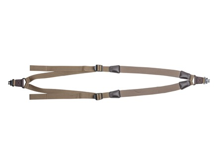 Allen Grand Junction Double Sling with Swivels Neoprene Tan