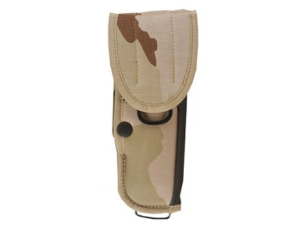 "Bianchi UM92-1 Universal Military Holster with Trigger Shield Large Frame Semi-Automatic 5"" Barrel Nylon Desert Camo"
