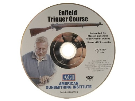 "American Gunsmithing Institute (AGI) Trigger Job Video ""Enfield Rifle"" DVD"