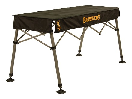 Browning Outfitter Table Steel Frame Nylon Cover Black