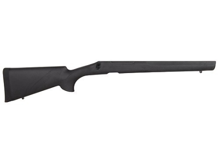 Hogue OverMolded Rifle Stock Remington 700 BDL Detachable Magazine Long Action Varmint Barrel Channel Pillar Bed Rubber Black