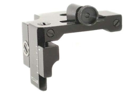 Williams FP-GR Receiver Peep Sight Airguns, 22 Rifles with Dovetail Receivers and Low Line of Sights Aluminum Black