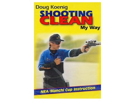 "Gun Video ""Shooting Clean My Way With Doug Koenig"" DVD"