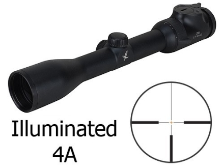 Swarovski Z6 Rifle Scope 30mm Tube 1.7-10x 42mm 1/10 Mil Adjustments Illuminated #4A Reticle Matte