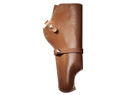 "Hunter 1100 Snap-Off Belt Holster Right Hand 10"" Thompson Center Contender Barrel Scoped Leather Tan"