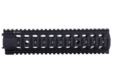 "Troy Industries 10"" MRF-MX Battle Rail Free Float Quad Rail Handguard AR-15"