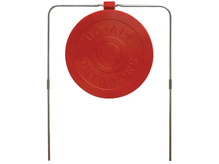 "Do-All Impact Seal Self Healing Big Gong Show Reactive Target 9"" Ballistic Polymer Red"