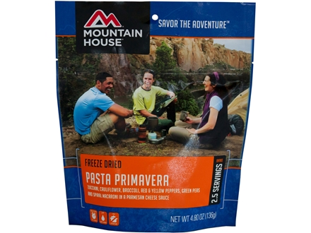 Mountain House Pasta Primavera Freeze Dried Meal 4 oz