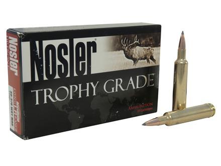 Nosler Trophy Grade Ammunition 30-378 Weatherby Magnum 210 Grain AccuBond Long Range Box of 20
