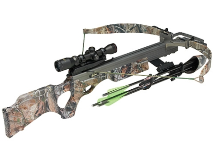 Excalibur Vortex Crossbow Package with Shadow Zone Illuminated Scope Realtree AP HD Camo