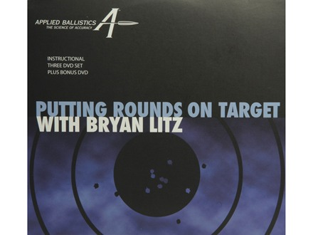 "Applied Ballistics ""Putting Rounds on Target""  with Bryan Litz DVD 3 Disc set with Bonus DVD"