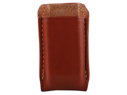 Gould & Goodrich Single Magazine Pouch Double Stack Glock Magazines Leather Brown