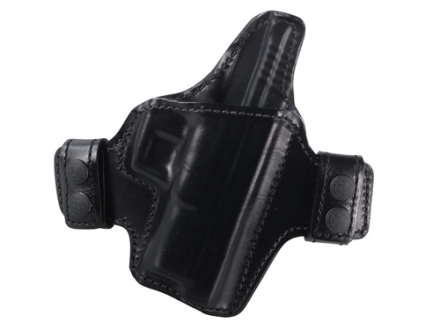 Bianchi Allusion Series 125 Consent Outside the Waistband Holster Right Hand Springfield XDM Leather Black