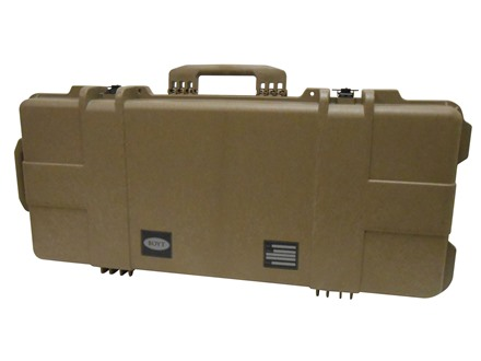 "Boyt H36 Tactical Carbine Rifle Case with Foam Insert and Wheels 39"" x 17-1/4"" x 7"" Polymer Flat Dark Earth"