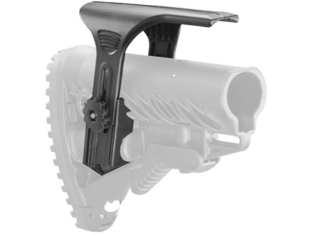 Mako Adjustable Cheek Rest for GLR16 AR-15 Buttstocks Polymer Black