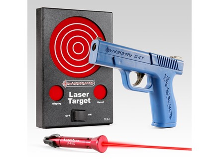 LaserLyte Laser Training Bullseye Training Kit