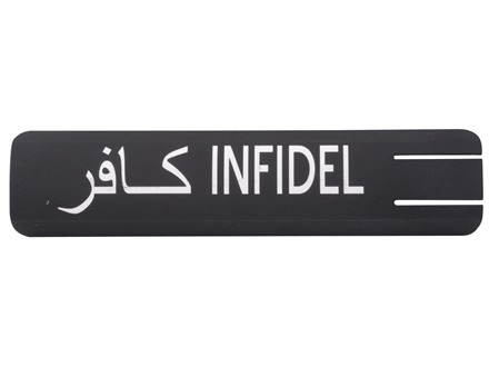 ERGO Full Profile Infidel Rail Cover Polymer Black