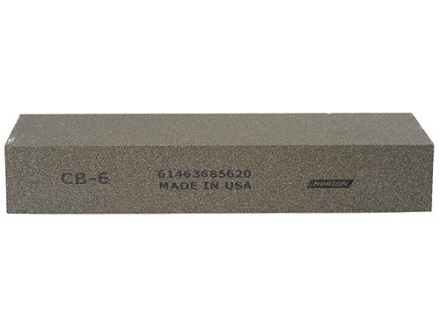 "Norton India Sharpening Stone 6"" x 2"" x 1"" Coarse"