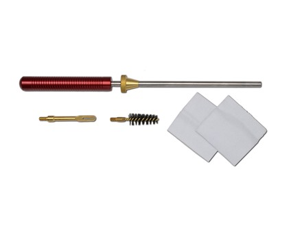 "Pro-Shot Competition Pistol Cleaning Kit 357 to 45 Caliber 8"" Stainless 8 x 32 Thread"
