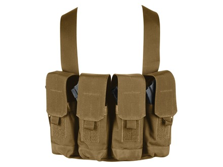 BlackHawk Chest Rig Holds 8 AK-47 30 Round Magazines Nylon Coyote Tan
