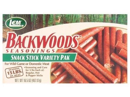LEM Snack Stick Variety Pak Sausage Seasoning
