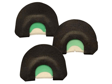 Quaker Boy Turkey Thugs Half Moon E-Z Pack Diaphragm Turkey Call Combo