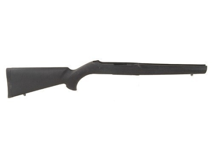 Hogue Rubber OverMolded Rifle Stock Ruger 10/22 Magnum Standard Barrel Channel Synthetic Black