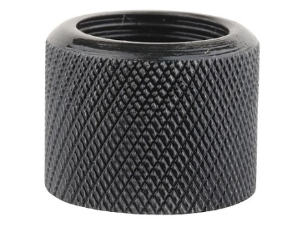 "Gentry Thread Protector Cap 1/2""-28 Thread .650"" Outside Diameter x 1/2"" Length Knurled Chrome Moly Blue"