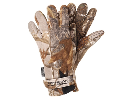 Stormkloth II SKII Fleece Gloves Polyester Realtree AP Camo Large/XL