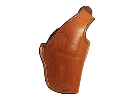 "Bianchi 5BHL Thumbsnap Holster S&W 36, 38, 40, 60, Taurus 85 2"" Barrel Suede Lined Leather Tan"