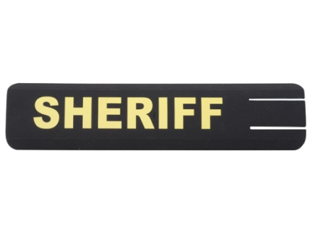 ERGO Full Profile Sheriff Rail Cover Set of 2 Polymer Black