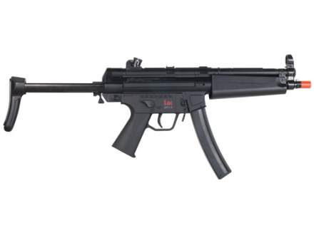 HK MP5 Navy Airsoft Rifle 6mm Dual Power Spring/Electric Semi/Full-Automatic Polymer Black