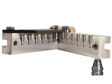 Lee 6-Cavity Bullet Mold 452-200-SWC 45 ACP, 45 Auto Rim, 45 Colt (Long Colt) (452 Diameter) 200 Grain Semi-Wadcutter