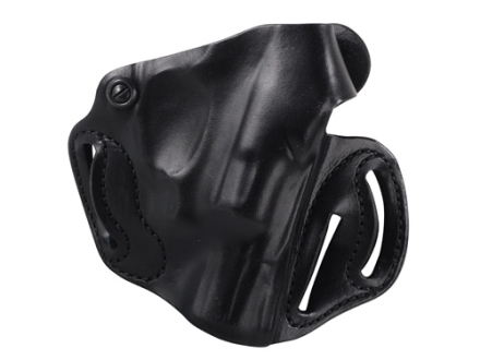 DeSantis Thumb Break Scabbard Belt Holster Right Hand Smith & Wesson Bodyguard 38 Leather Black