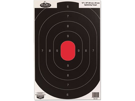 "Birchwood Casey Dirty Bird 12"" x 18"" Silhouette Target Package of 8"