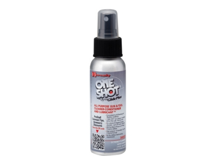 Hornady One Shot Gun and Tool Cleaner, Conditioner and Lubricant 2 oz Liquid