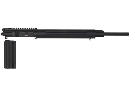 "DPMS AR-15 A3 Flat-Top Upper Assembly 30 Remington AR 1 in 10"" Twist 20"" Barrel Stainless Steel Black Teflon with Free Float Handguard, 10-Round Magazine"