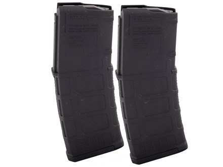 Magpul PMAG M3 Magazine AR-15 223 Remington 30-Round Black 2 Pack
