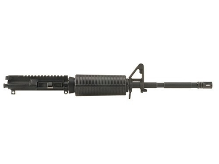 "DPMS AR-15 AP4 A3 Flat-Top Upper Assembly 5.56x45mm NATO 1 in 9"" Twist 16"" M4 Contour Barrel Chrome Moly Matte with GlacierGuard Handguard, A2 Front Sight, Flash Hider"