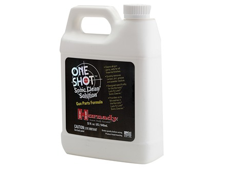 Hornady One Shot Sonic Clean Ultrasonic Firearm Cleaning Solution 1 Quart