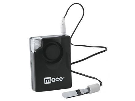 Mace Brand SportStrobe Personal Alarm 130 Decibels alarm, Stobing Light, and Batteries Black